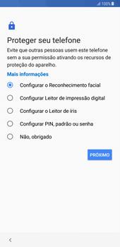 Samsung Galaxy Note 8 - Primeiros passos - Como ligar o telemóvel pela primeira vez -  12