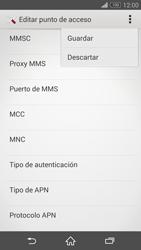 Sony Xperia Z3 - Mensajería - Configurar el equipo para mensajes multimedia - Paso 15