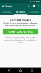 Sony Xperia Z3 Plus - Aplicações - Como configurar o WhatsApp -  11