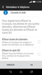 HTC Desire 510 - Aller plus loin - Restaurer les paramètres d'usines - Étape 6