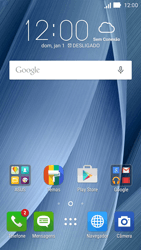 Asus Zenfone 2 - Chamadas - Como bloquear chamadas de um número específico - Etapa 2