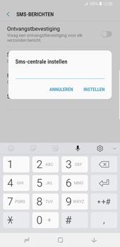 Samsung Galaxy S9 Plus - SMS - Handmatig instellen - Stap 9