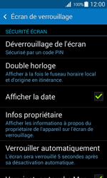 Samsung Galaxy Ace 4 - Sécuriser votre mobile - Activer le code de verrouillage - Étape 11