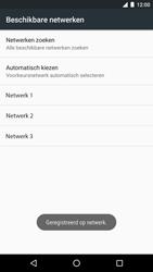 LG Nexus 5X (H791F) - Android Nougat - Netwerk selecteren - Handmatig een netwerk selecteren - Stap 11