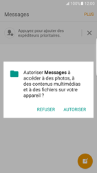 Samsung Galaxy S7 Edge - Contact, Appels, SMS/MMS - Envoyer un SMS - Étape 5
