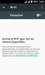 Alcatel U3 - Internet et connexion - Accéder au réseau Wi-Fi - Étape 5