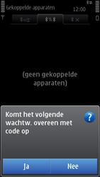 Nokia C7-00 - Bluetooth - Headset, carkit verbinding - Stap 11