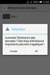 Alcatel Pixi 3 Dual Sim - Aller plus loin - Désactiver les données à l'étranger - Étape 9