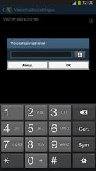 Samsung I9205 Galaxy Mega 6-3 LTE - Voicemail - Handmatig instellen - Stap 8