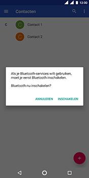 Nokia 5.1 - Contactgegevens overzetten - delen via Bluetooth - Stap 11