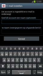 Samsung N7100 Galaxy Note II - E-mail - Account instellen (POP3 zonder SMTP-verificatie) - Stap 13