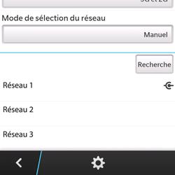 BlackBerry Q5 - Réseau - utilisation à l'étranger - Étape 14