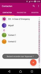 Sony Xperia XZ (F8331) - Contacten en data - Contacten overzetten via Bluetooth - Stap 11
