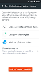 HTC U Play - Aller plus loin - Restaurer les paramètres d'usines - Étape 6