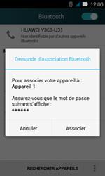 Huawei Y3 - WiFi et Bluetooth - Jumeler votre téléphone avec un accessoire bluetooth - Étape 6