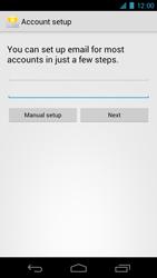 Samsung I9250 Galaxy Nexus - E-mail - Manual configuration - Step 5