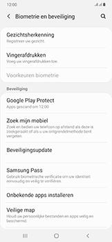 Samsung Galaxy A50 - Toestel - stel Zoek mijn mobiel in - Stap 5