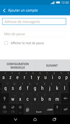 HTC One M8 - E-mail - Configurer l