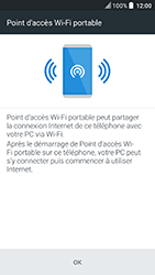 HTC U Play - Internet et connexion - Partager votre connexion en Wi-Fi - Étape 7