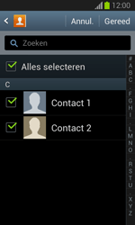 Samsung S7390 Galaxy Trend Lite - Contacten en data - Contacten overzetten via Bluetooth - Stap 8