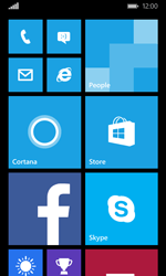 Microsoft Lumia 435 - Internet - Example mobile sites - Step 1