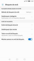 Huawei P10 - Segurança - Como ativar o código de bloqueio do ecrã -  4