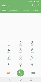 LG V30 (LG-H930) - Voicemail - Handmatig instellen - Stap 3
