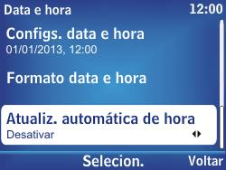 Nokia Asha 302 - Funções básicas - Como configurar data e hora - Etapa 15