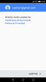 Huawei P10 Plus - E-mail - Configurar Gmail - Paso 12
