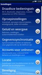 Sony Ericsson Xperia X10 - Buitenland - Bellen, sms en internet - Stap 5