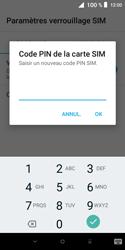 Alcatel 1X - Sécuriser votre mobile - Personnaliser le code PIN de votre carte SIM - Étape 8