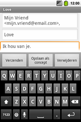 Alcatel OT-991 Smart - E-mail - hoe te versturen - Stap 8