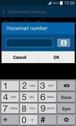 Samsung G355 Galaxy Core 2 - Voicemail - Manual configuration - Step 7