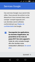 Huawei Huawei Y5 II - E-mail - Configuration manuelle (gmail) - Étape 14