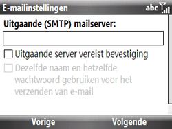 HTC S521 Snap - E-mail - Handmatig instellen - Stap 11