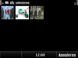 Nokia E6-00 - MMS - Afbeeldingen verzenden - Stap 9