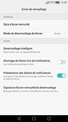 Huawei Nova - Sécuriser votre mobile - Activer le code de verrouillage - Étape 5