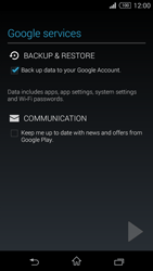 Sony D5803 Xperia Z3 Compact - E-mail - Manual configuration (gmail) - Step 13