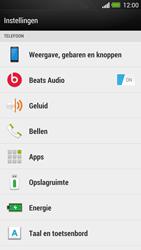 HTC One - Voicemail - handmatig instellen - Stap 4