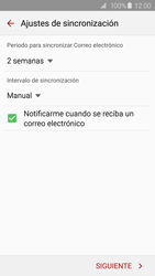 Samsung Galaxy S6 - E-mail - Configurar Yahoo! - Paso 7