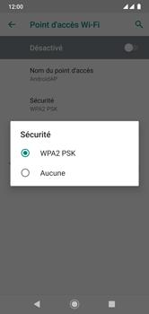 Xiaomi Mi A2 Lite - Internet - comment configurer un point d'accès mobile - Étape 10