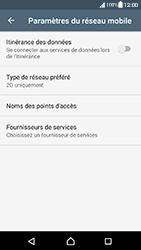 Sony Xperia XA (F3111) - Android Nougat - Réseau - Changer mode réseau - Étape 8