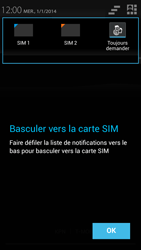 Wiko Darkmoon - Messagerie vocale - Configuration manuelle - Étape 4