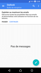 Sony Xperia XZ (F8331) - E-mail - Configuration manuelle (outlook) - Étape 5