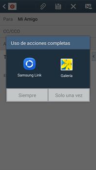 Samsung Galaxy Note 3 - E-mail - Escribir y enviar un correo electrónico - Paso 12