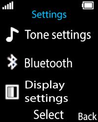 Nokia 108 - WiFi and Bluetooth - Setup Bluetooth Pairing - Step 4
