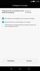 Huawei P8 - E-mail - Configuration manuelle - Étape 15