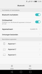 Huawei P9 - Bluetooth - headset, carkit verbinding - Stap 6
