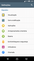 Sony Xperia XA (F3111) - Segurança - Como ativar o código PIN do cartão de telemóvel -  4