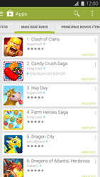 Samsung G900F Galaxy S5 - Aplicativos - Como baixar aplicativos - Etapa 9